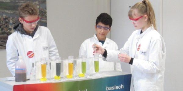 2019 im Kids Lab der BASF