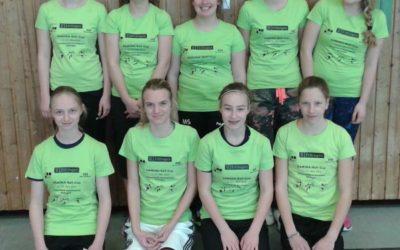 1. Platz beim Pamina Mädchen-Ball-Cup 2015 in Ettlingen